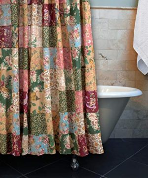 Greenland Home Antique Chic Patchwork Shower Curtain 0 0 300x360