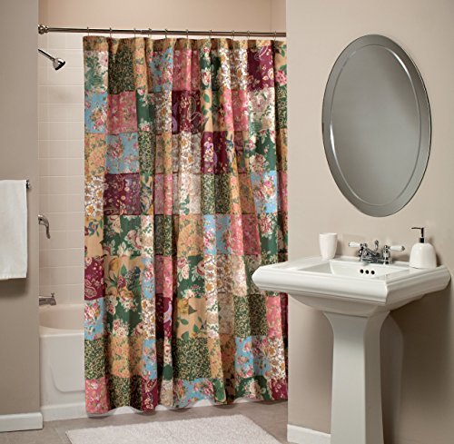 Greenland Home Antique Chic Patchwork Shower Curtain 0