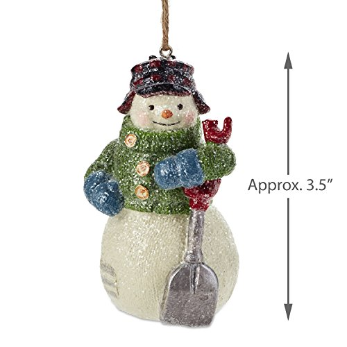 Hallmark Christmas Ornaments Rustic Snowman Santa And Reindeer Holiday Decorations Set Of 6 Gary Head 0 1