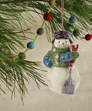 Hallmark Christmas Ornaments Rustic Snowman Santa And Reindeer Holiday Decorations Set Of 6 Gary Head 0 2 300x360