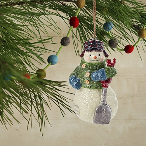 Hallmark Christmas Ornaments Rustic Snowman Santa And Reindeer Holiday Decorations Set Of 6 Gary Head 0 2