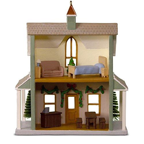 Hallmark Keepsake Christmas Ornament 2018 Year Dated Nostalgic Houses And Shops Festive Firs Christmas Tree Farm 0 0