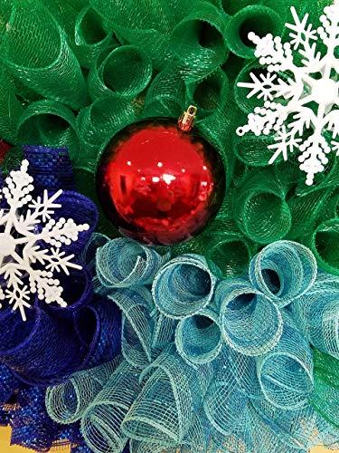 Holiday Christmas Winter Wonderland Wreath 0 0