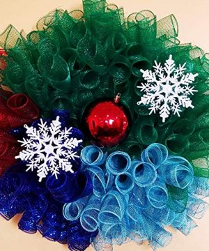 Holiday Christmas Winter Wonderland Wreath 0 300x360