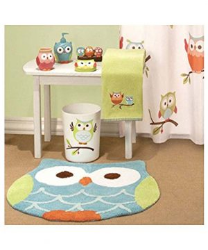 Hooty Owl Bath Rug By Saturday Knight 0 0 300x360