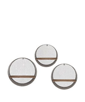 IMAX 65320 3 Laurel Round Wall Shelves Set Of 3 0 300x360