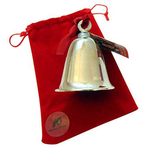 Its A Wonderful Life Bell Christmas Decoration Souvenir Keepsake Ornament In A Bedford Falls Gift Box 0 0
