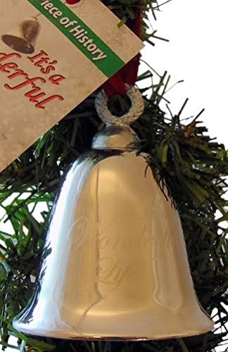 Its A Wonderful Life Bell Christmas Decoration Souvenir Keepsake Ornament In A Bedford Falls Gift Box 0 1
