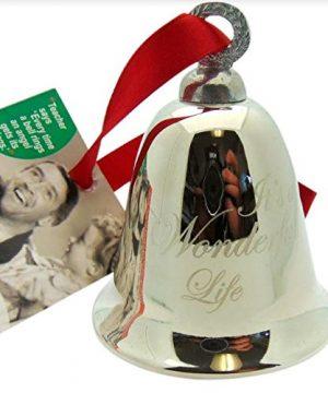 Its A Wonderful Life Bell Christmas Decoration Souvenir Keepsake Ornament In A Bedford Falls Gift Box 0 3 300x360