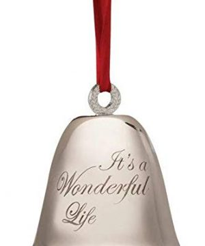 Its A Wonderful Life Bell Christmas Decoration Souvenir Keepsake Ornament In A Bedford Falls Gift Box 0 300x360