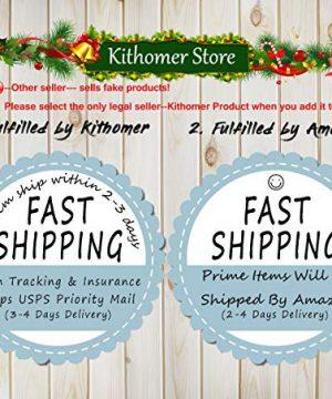 Kithomer Set Of 4 Christmas Pillow Covers Buffalo Plaid Farmhouse Decorative Cotton Linen Throw Pillow Cases 18 X 18 Inch Christmas Home Decoration 0 0 300x360