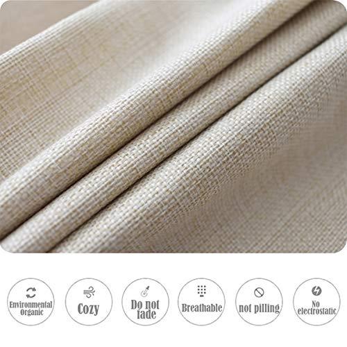 Kithomer Set Of 4 Christmas Pillow Covers Buffalo Plaid Farmhouse Decorative Cotton Linen Throw Pillow Cases 18 X 18 Inch Christmas Home Decoration 0 5