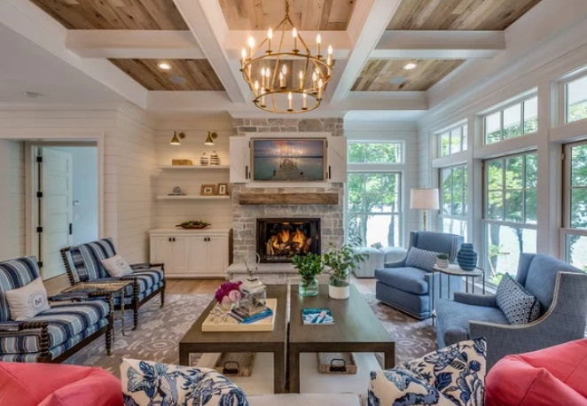 Lake Minnetonka Dreamhome by Engstrom Wood Products