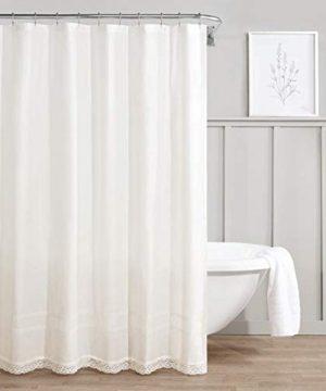 Laura Ashley Annabella Shower Curtain 72x72 White 0 300x360