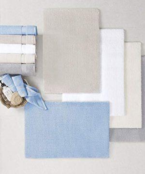 Madison Park Signature Marshmallow Bath Rug 24x72 Taupe 0 0 300x360