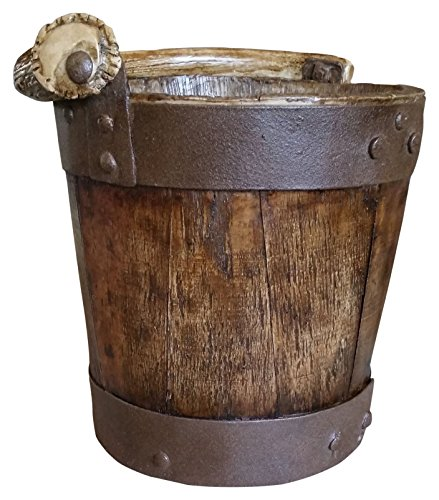 Mountain Mikes Reproductions Well Bucket Waste Basket 0