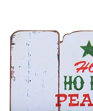 NIKKY HOME Rustic Christmas Wish Wooden Wall Decorative Sign 787 X 063 X 1187 Inches 0 1 300x360