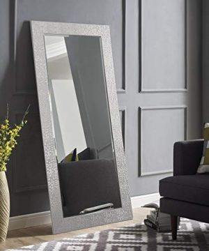 Naomi Home Mosaic Style Full Length Floor Mirror Silver655 X 315 0 300x360