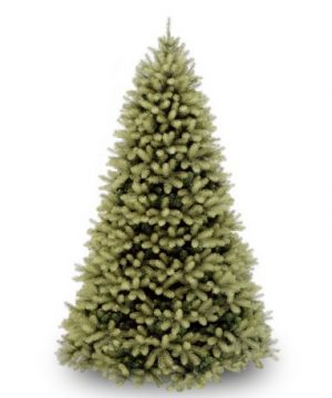 National Tree 75 Foot Feel Real Downswept Douglas Fir Tree Hinged PEDD1 503 75 0 300x360