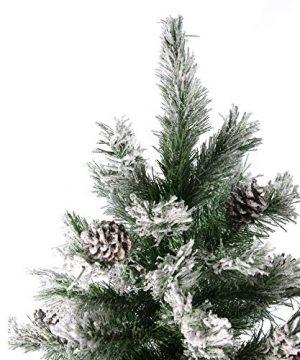 Northlight Angel Pine Cones Christmas Tree 6 Green 0 0 300x360