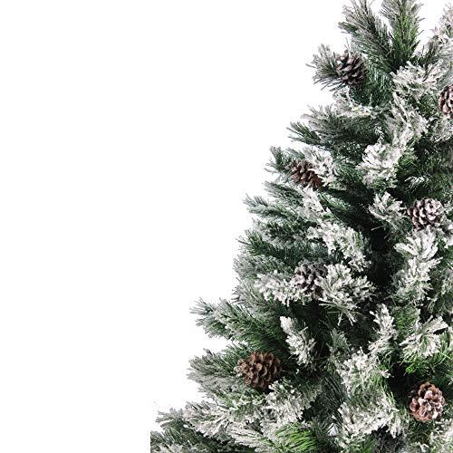 Northlight Angel Pine Cones Christmas Tree 6 Green 0 1