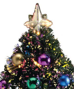 Northwoods GreeneryTM Fiber Optic Holiday Tree 32 Inch Green 0 0 300x360