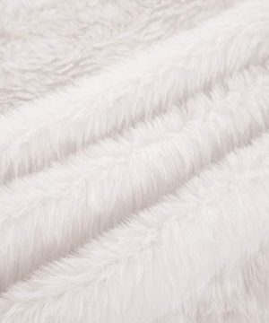 OLYPHAN Christmas Tree Skirt Large Snow White Luxury Faux Fur 48 Inches 4ft 36 Inch 3 Ft 30 Inch Round For Under Xmas Tree Decorations 36 Inches 3ft 0 2 300x360