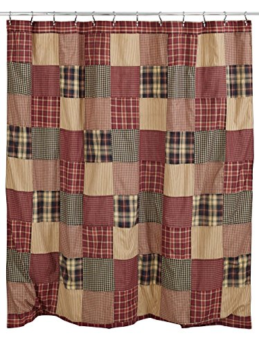 Olivias Heartland Rutherford Shower Curtain 0