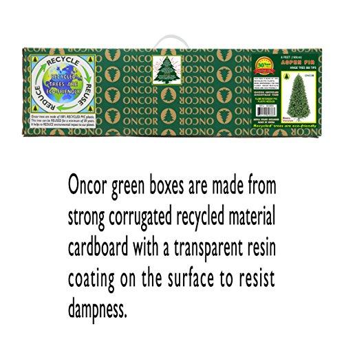 Oncor 6ft Eco Friendly Aspen Fir Christmas Tree 0 4