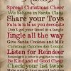 P Graham Dunn Christmas Rules Family Cheer Snowflakes 15 X 9 Inch Pine Wood Plank Wall Sign Plaque 0 100x100
