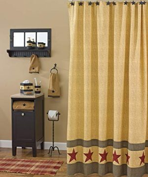 Park Designs Country Star Shower Curtain 72 By 72 0 300x360