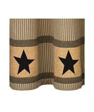 Park Designs Primitive Star Shower Curtain 72 By 72 0 0 300x360