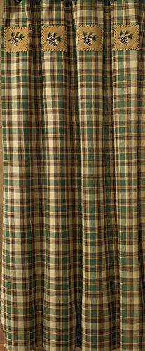 Park Designs Scotch Pine Shower Curtain 72 X 72 0