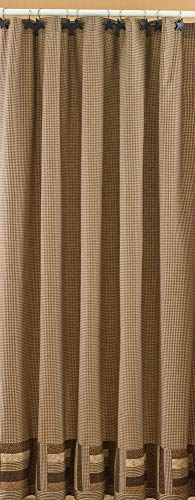 Park Designs Shades Of Brown Shower Curtain 72 By 72 0
