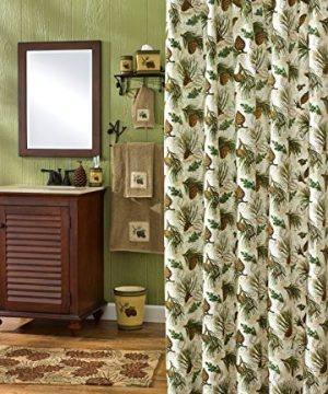 Park Designs Walk In The Woods Shower Curtain 72 By 72 0 300x360