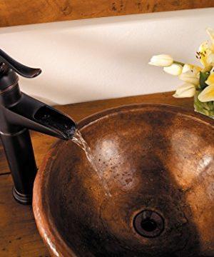 Pfister LFM40YP0Y Ashfield Single Control Vessel Bathroom Faucet In Tuscan Bronze Water Efficient Model 0 2 300x360