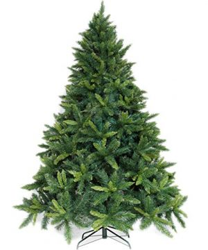 Potalay Artificial Christmas Tree Unlit 45675 Feet Premium Hinged Spruce Full Tree5 FT 0 300x360