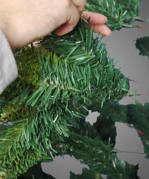 Potalay Artificial Christmas Tree Unlit 45675 Feet Premium Hinged Spruce Full Tree6 FT 0 300x360