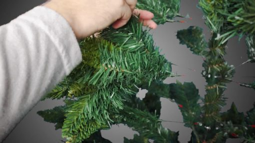 Potalay Artificial Christmas Tree Unlit 45675 Feet Premium Hinged Spruce Full Tree6 FT 0 510x287