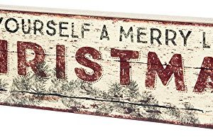 Primitives By Kathy Rustic Inspired Box Sign A Merry X Mas 0 300x193