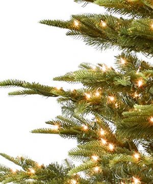 Puleo International 75 Foot Pre Lit Aspen Fir Artificial Christmas Tree With 700 UL Listed Clear Lights Green 0 0 300x360