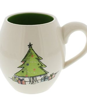 Rae Dunn By Magenta Christmas Tree Mug Green Interior 0 300x360