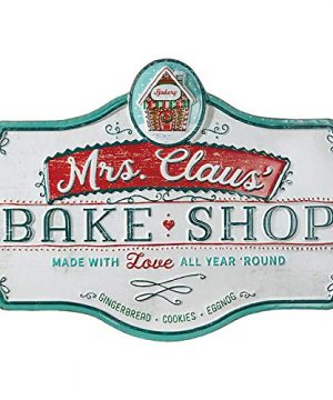 Raz 235 Metal Bake Shop Christmas Sign 3912331 0 0 300x360