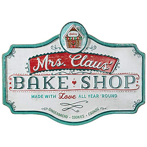 Raz 235 Metal Bake Shop Christmas Sign 3912331 0 0