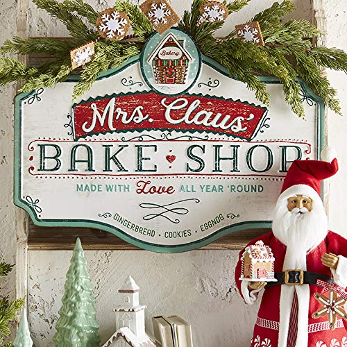 Raz 235 Metal Bake Shop Christmas Sign 3912331 0