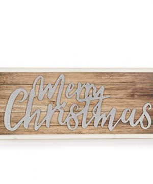 ReLive Decorative Expressions 11x27 Decorative Wooden Sign Merry Christmas Shimmer 0 300x360
