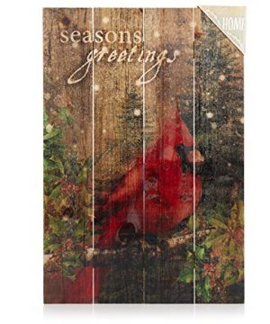 ReLive-Decorative-Expressions-18x12-Decorative-Wooden-Sign-Christmas-Cardinal-Seasons-Greetings-0