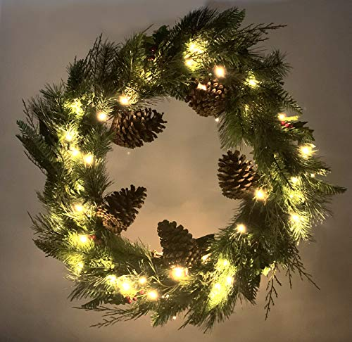 Red Co 23 Christmas Wreath With