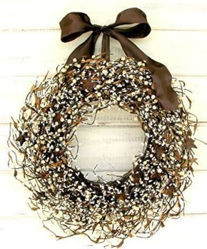Rustic Wreath Fall Wreath Primitive Country Decor Star Wreath Fall Door Wreath Rustic Christmas Wreath Autumn Door Wreath Housewarming Gift Door Wreath Rustic Home Decor Brown Wreath Gifts 0 300x360