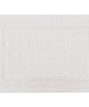 SAM HEDAYA LOFT 20x30 White Bath Mat 0 300x360